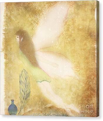 Fairy Folk Magic Canvas Print by Sacred  Muse