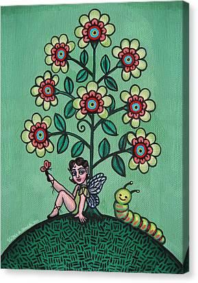 Fairy Series Katrina Canvas Print by Victoria De Almeida