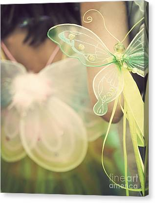 Fairy Wings Canvas Print by Juli Scalzi