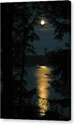 Fairytale Moon Canvas Print by RJ Martens
