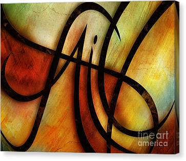 Faith Abstract Canvas Print by Shevon Johnson