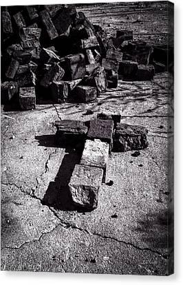 Faith Among The Ruins Canvas Print by Bob Orsillo