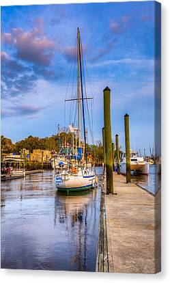 Faith Hope And Charity Canvas Print by Debra and Dave Vanderlaan