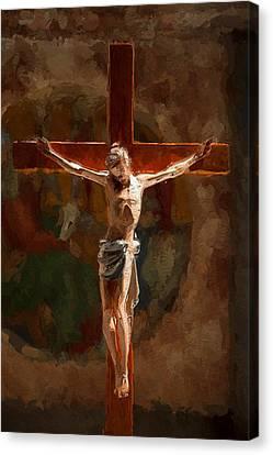 Faith Hope Love Canvas Print by Stefan Kuhn
