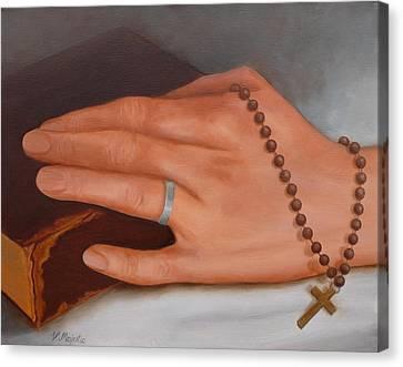 Faith Canvas Print by Viktoria K Majestic