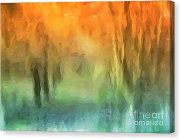 Fall Colors Canvas Print by John Edwards