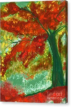 Fall Impression By Jrr Canvas Print by First Star Art