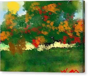 Fall On The Ridge Rd Canvas Print by Bill Minkowitz