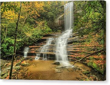 Fall Water Canvas Print by Doug McPherson
