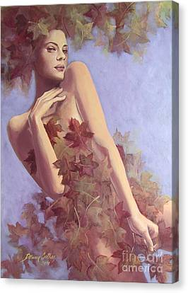 Fall...in Love... Canvas Print by Dorina  Costras