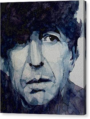 Famous Blue Raincoat Canvas Print by Paul Lovering