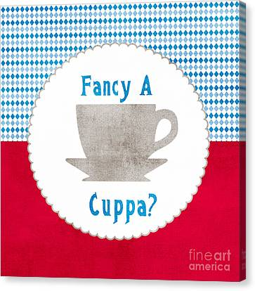 Fancy A Cup Canvas Print by Linda Woods