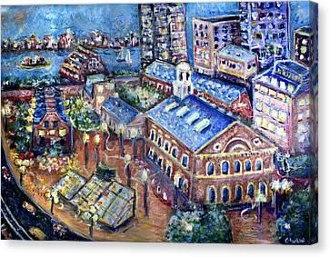 Faneuil Hall Canvas Print by Jason Gluskin