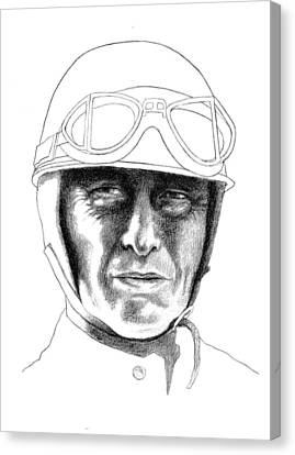 Fangio Canvas Print by Diane Fine