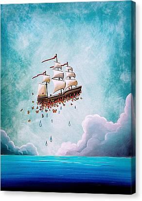 Fantastic Voyage Canvas Print by Cindy Thornton