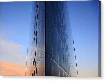 Fantasy Building In Glass Canvas Print by Toppart Sweden