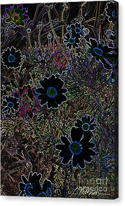 Fantasy Garden No. 2 Canvas Print by Cathy Peterson