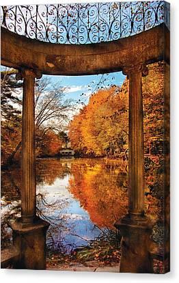Fantasy - Paradise Waits Canvas Print by Mike Savad