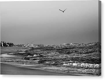 Delray Beach Sunset Canvas Print by Nasser Studios