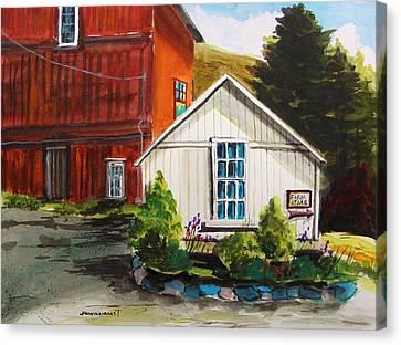 Farm Store Canvas Print by John Williams