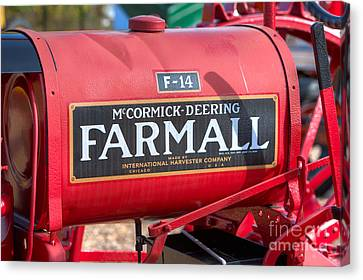 Farmall F-14 Tractor I Canvas Print by Clarence Holmes