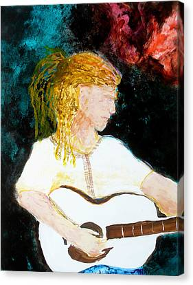 Farmers Daughter Canvas Print by Keith Thue