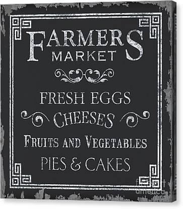 Farmers Market Canvas Print by Debbie DeWitt