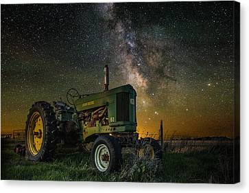 Farming The Rift 3 Canvas Print by Aaron J Groen