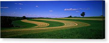 Farmland Il Usa Canvas Print by Panoramic Images