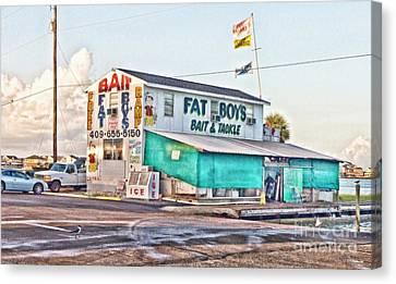 Fat Boys Canvas Print by Scott Pellegrin