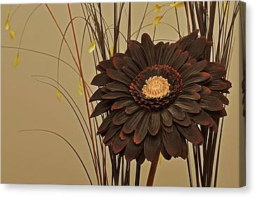 Faux Flora Canvas Print by Terence Davis