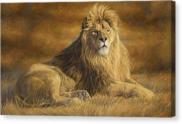 Fearless Canvas Print by Lucie Bilodeau