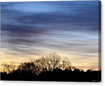 February 1 Dawn 2013 II Canvas Print by Maria Urso