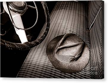 Fedora Canvas Print by Olivier Le Queinec