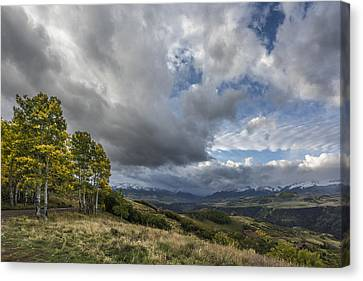 Feel The Clouds Canvas Print by Jon Glaser