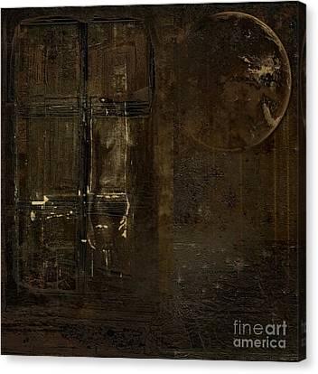 Feeling Invisible Canvas Print by Andrea Kollo