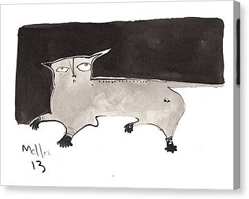 Feles No. 2  Canvas Print by Mark M  Mellon