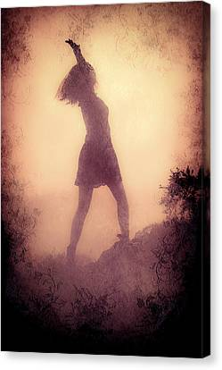 Feminine Freedom Canvas Print by Loriental Photography