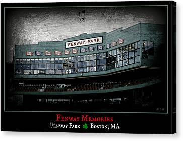 Fenway Memories - Clover Edition Canvas Print by Stephen Stookey