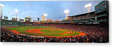 Fenway Canvas Print by Stephen Bellingham