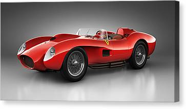 Ferrari 250 Testa Rossa - Spirit Canvas Print by Marc Orphanos