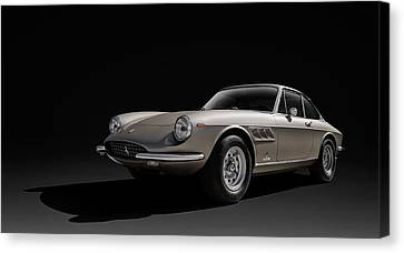 Ferrari 365 Canvas Print by Douglas Pittman