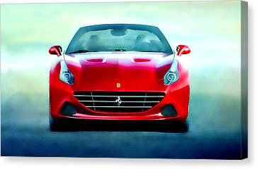Ferrari California Canvas Print by Brian Reaves