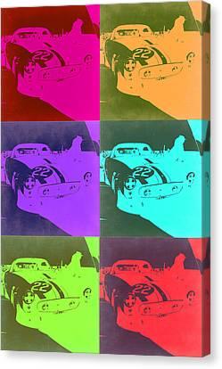 Ferrari Gto Pop Art 3 Canvas Print by Naxart Studio