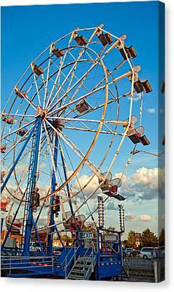 Ferris Wheel Canvas Print by Steve Harrington
