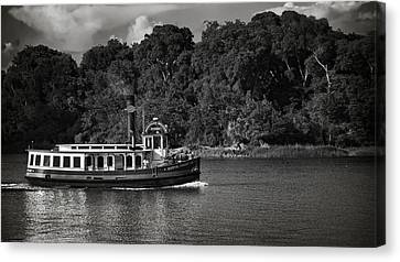 Ferry Canvas Print by Mario Celzner