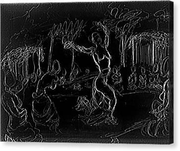Fertility Dance Canvas Print by George Harrison