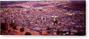 Fes, Morocco Canvas Print by Panoramic Images