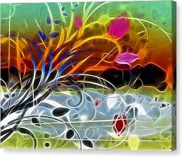 Festival Canvas Print by Ann Croon