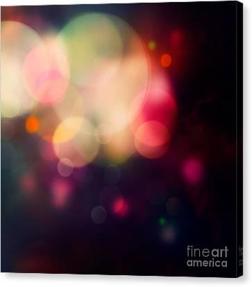 Festive Purple Background Canvas Print by Mythja  Photography